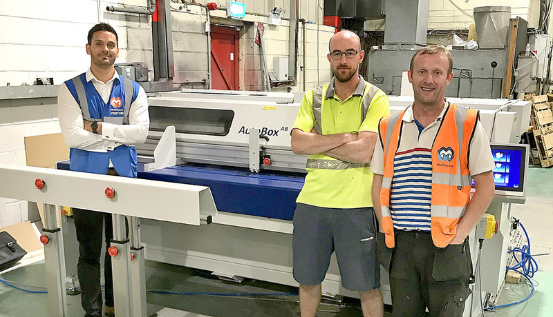 Irelands largest POS printer, Mcgowans Print invests in Kolbus Autobox Boxmaker