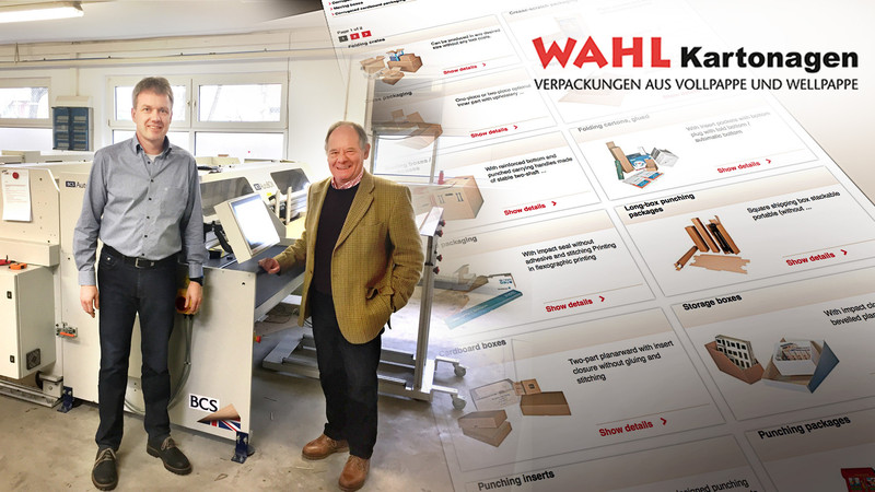 WAHL Kartonagen offer box variety